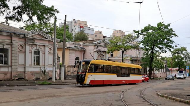 В Одессе построили очередной новый трамвай