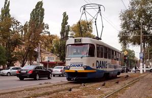 В Одессе могут надолго прекратить движение трамваев на Фонтан