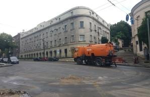 В Одессе из-за ночного ливня не работало большинство трамвайных маршрутов
