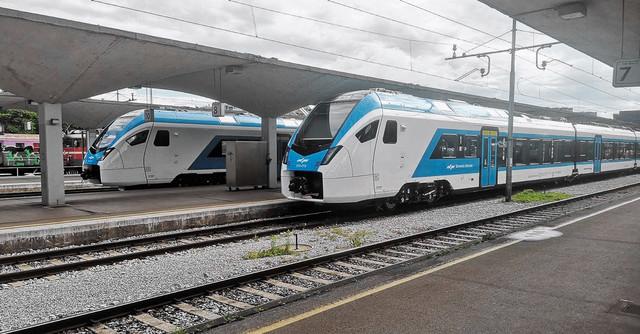 Словения закупает швейцарские поезда