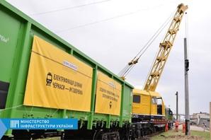 На Одесской железной дороге начали электрифицировать линию в Черкассы