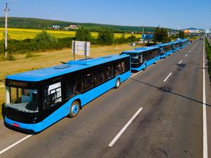 """Ужгород получил партию новых автобусов """"Электрон"""" (ФОТО)"""