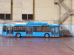 Первые троллейбусы по кредиту ЕБРР для Николаева уже готовы