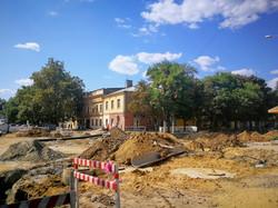 Ремонт улицы Преображенской в Одессе затягивается (ФОТО)