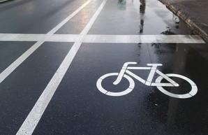 В Одессе появились новые велодорожки на Среднефонтанской и Пироговской