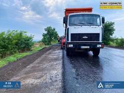 Как в Одесской области ремонтируют дорогу от Кучургана до Балты
