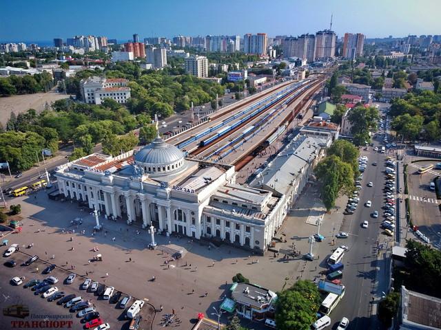 Железнодорожный траффик в Одессе в августе (ФОТО, ВИДЕО)