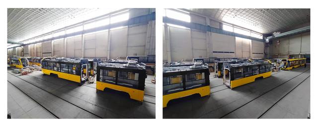 Одесская компания уже собирает партию новых трамваев для Киева