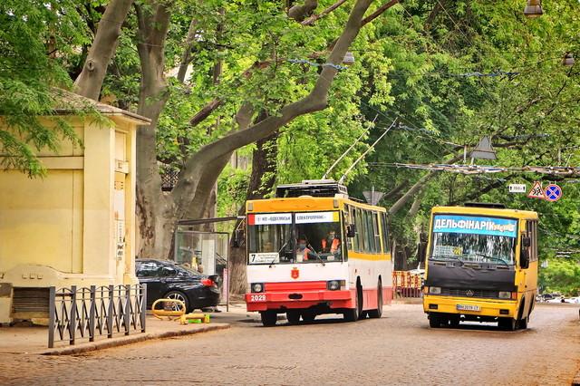 В Одессе и Одесской области сокращается объем автобусных перевозок