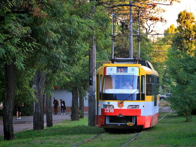 Одесский электротранспорт в очередной раз признали лучшим в Украине