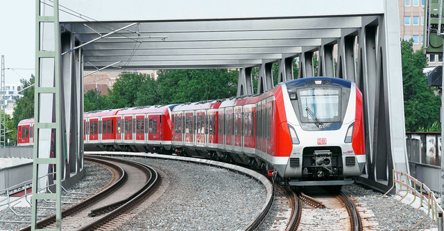В системе S-Bahn Гамбурга появятся автоматизированные поезда