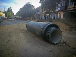 """В Одессе готовят бетонное основание под трамвайные пути у """"Привоза"""" (ФОТО)"""