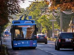 В Николаеве запустили на маршруты первые троллейбусы из закупленных по кредиту ЕБРР (ФОТО)