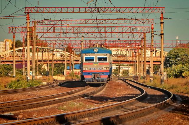 Железнодорожный траффик в Одессе в сентябре 2021-го (ВИДЕО)