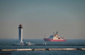 В порту Одессы 7 октября заметили низкий уровень воды