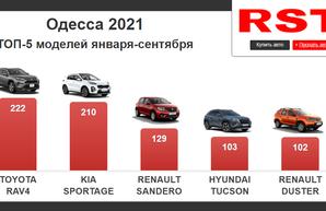 В Одесской области за 2021 год купили всего 3600 новых авто