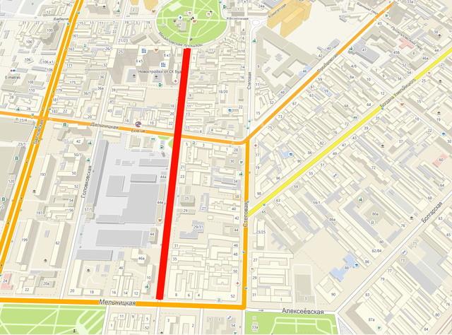В Одессе перекрывают движение на двух улицах