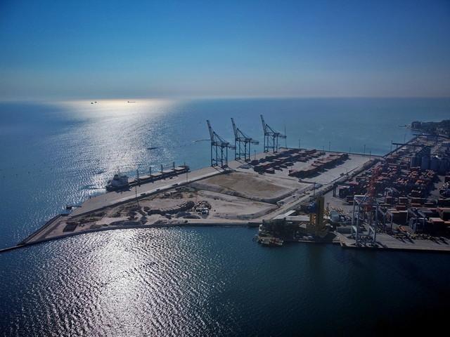 В порту Одессы расширяют железнодорожные пути на контейнерном терминале